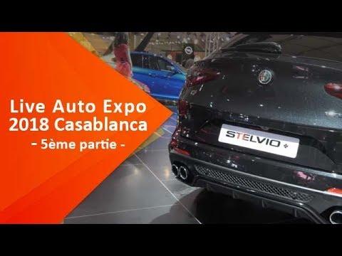 Live du Salon Auto Expo 2018 à Casablanca ( 5ème partie)