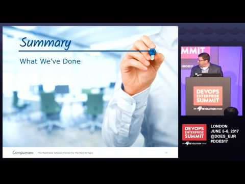 DOES17 London - Two Amazing Mainframe DevOps Transformation Case Studies