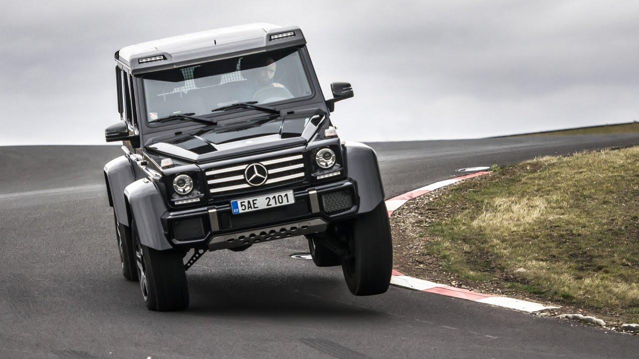 Mercedes-Benz G500 4x4² - test GARÁŽ.cz - Jízda za svobodou