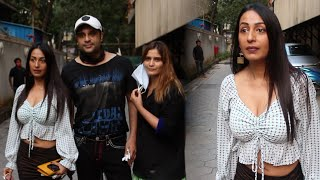 The Kapil Sharma Show Sapna Lal - Krishna Abhishek Spotted With Kashmira Shah & Aarti Singh,