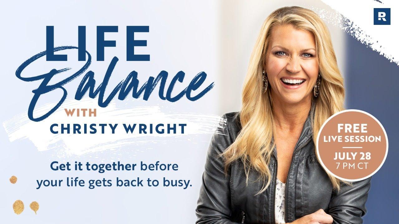 Life Balance with Christy Wright