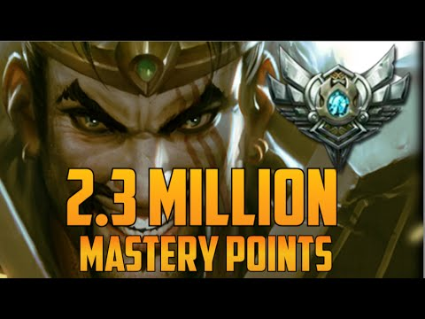 league of legends how to get mastery points