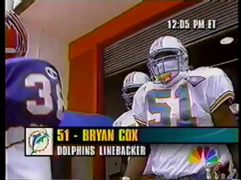 1994 Wk 06 Pregame Bryan Cox vs. Bills Interview
