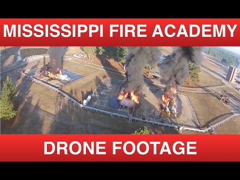 The Mississippi State Fire Academy - Drone Footage