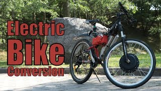 Electric Bike Conversion (Part 3) ||  Final Assembly & Test Ride