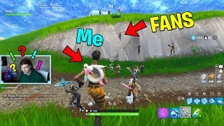 giving v bucks to the first stream viewer that trapped me.. (Fortnite Challenge)