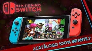 La Nintendo Switch es solo para niños? | ¿El catálogo es 100% infantil?