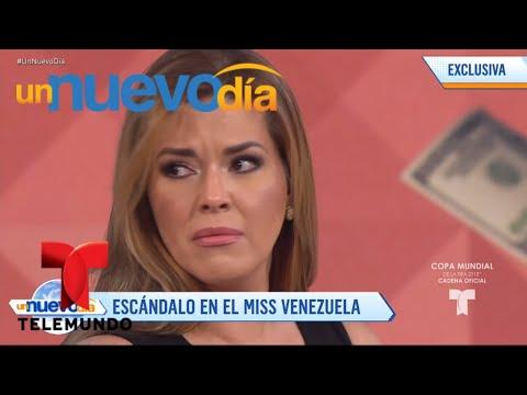 Daniel Sarcos habla sobre el escándalo de Miss Venezuela | Un Nuevo Día | Telemundo