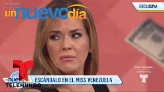 Daniel Sarcos habla sobre el escándalo de Miss Venezuela   Un Nuevo Día   Telemundo