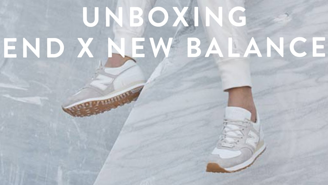 uk availability f092a c6a2c END x New Balance Sneaker Unboxing   M575END Marble White   The New  Collections   llomotes