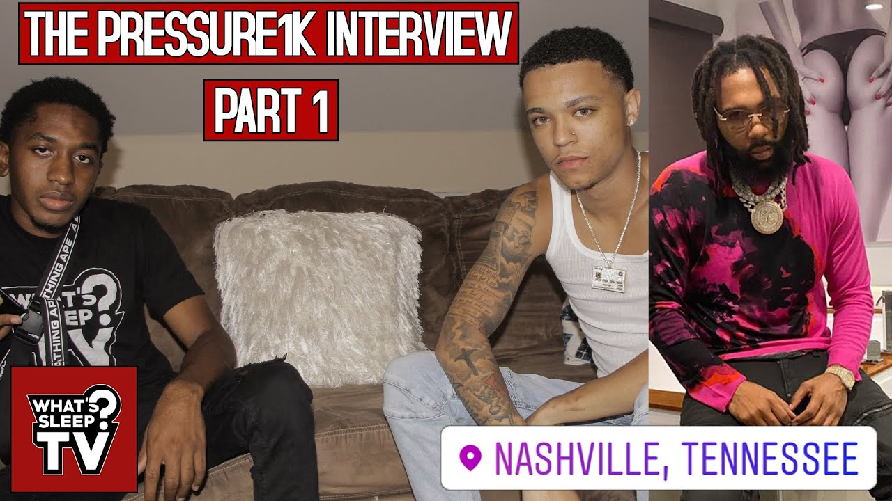Pressure1k Talks Being Inspired By Money Man & Being Surprised After Being On WSTV List
