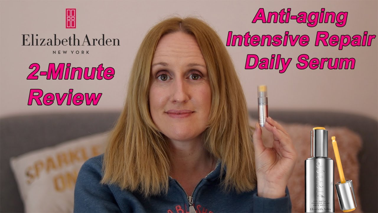 Two Minute Tuesday Elizabeth Arden Prevage Anti Aging And Intensive Repair Serum Louise Horn Youtube