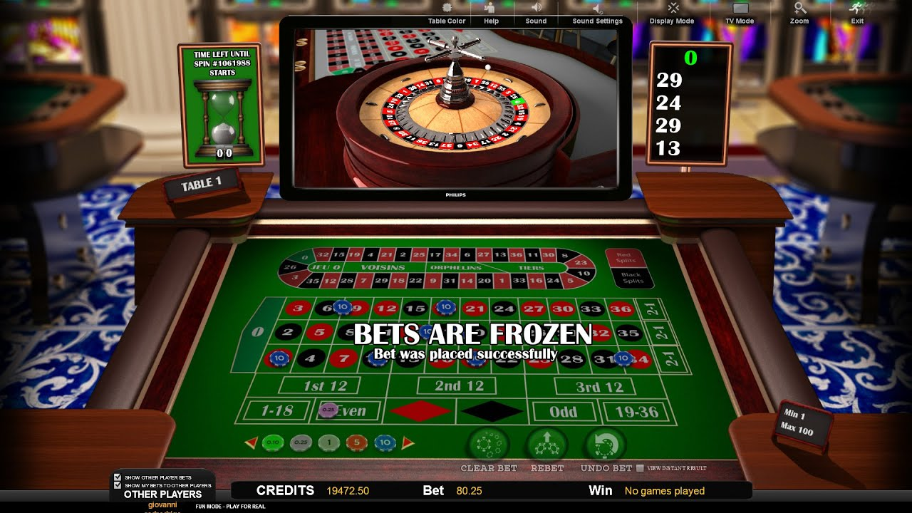 Tricks To Roulette In The Casino