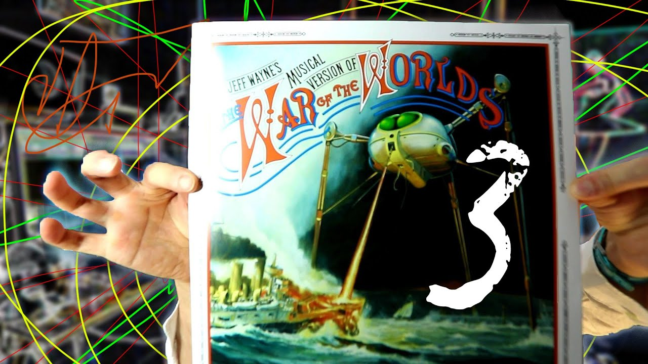 Producer experiences Jeff Wayne's Musical Version of the War of the Worlds  on vinyl | Part 3
