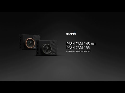 Garmin Dash Cam™ 45 and Dash Cam 55: Compact and Discreet Eyewitnesses