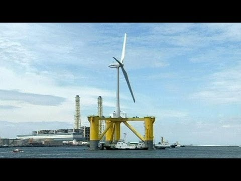 Wind farm takes shape off Fukushima as Japan seeks non-nuclear energy