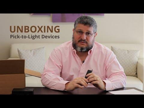 Voodoo Robotics Unboxing - Pick-to-Light Devices