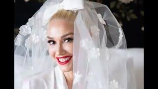 Gwen Stefani's Wedding Dress Was Filled With Subtle Tributes