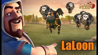 LaLoon Attacks Tearing Up TH9-12! | Clash of Clans