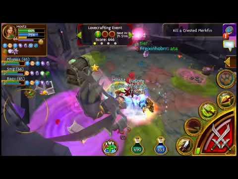 Arcane Legends - Event Lovecraft / Boss Hugthulu Prime