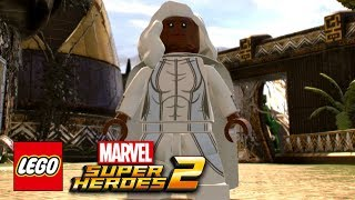 LEGO Marvel Super Heroes 2 - How To Make Storm (Ororo Munroe)