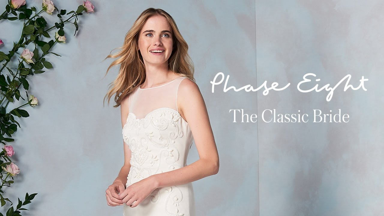 The Classic Bride | Phase Eight - YouTube