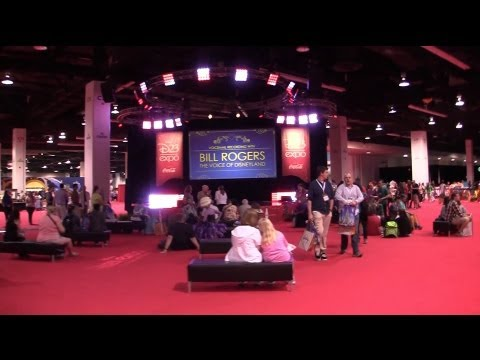 2013 D23 Expo show floor tour - Imagineering, Animation, Interactive, Consumer Products, and more