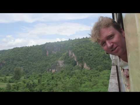 Riding the Gokteik Viaduct by train from Mandalay to Lashio