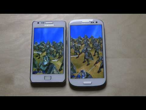 Samsung Galaxy S3 vs. Samsung Galaxy S2 - Review