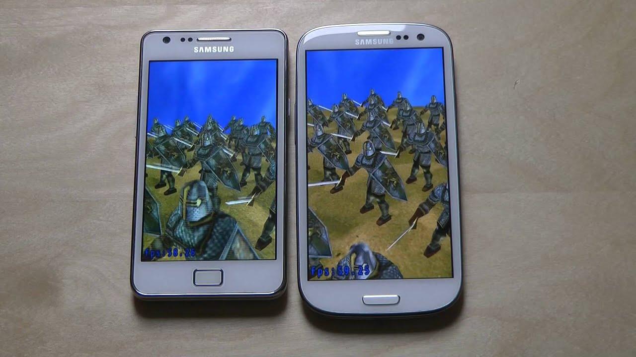 Samsung Galaxy S3 vs. Samsung Galaxy S2 - Review - YouTube