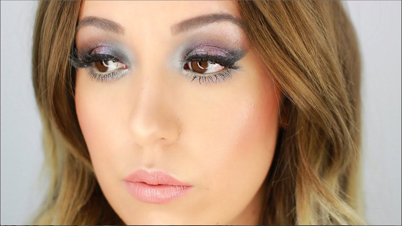 SUMMER PARTY MAKEUP TUTORIAL I BLUE DUOCHROME SMOKEY EYES I FULL FACE ROUTINE - YouTube
