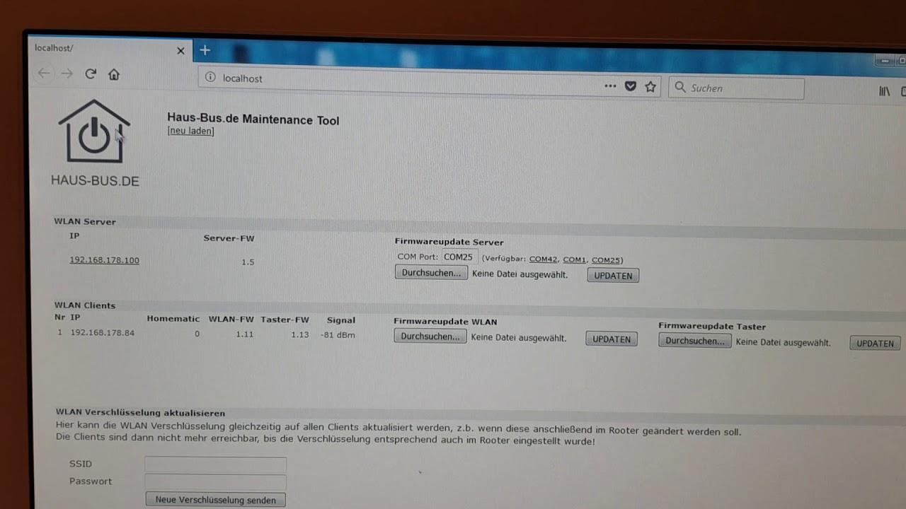 Multitaster / Mehrfachtaster für Hausautomatisierungen - HAUS-BUS de