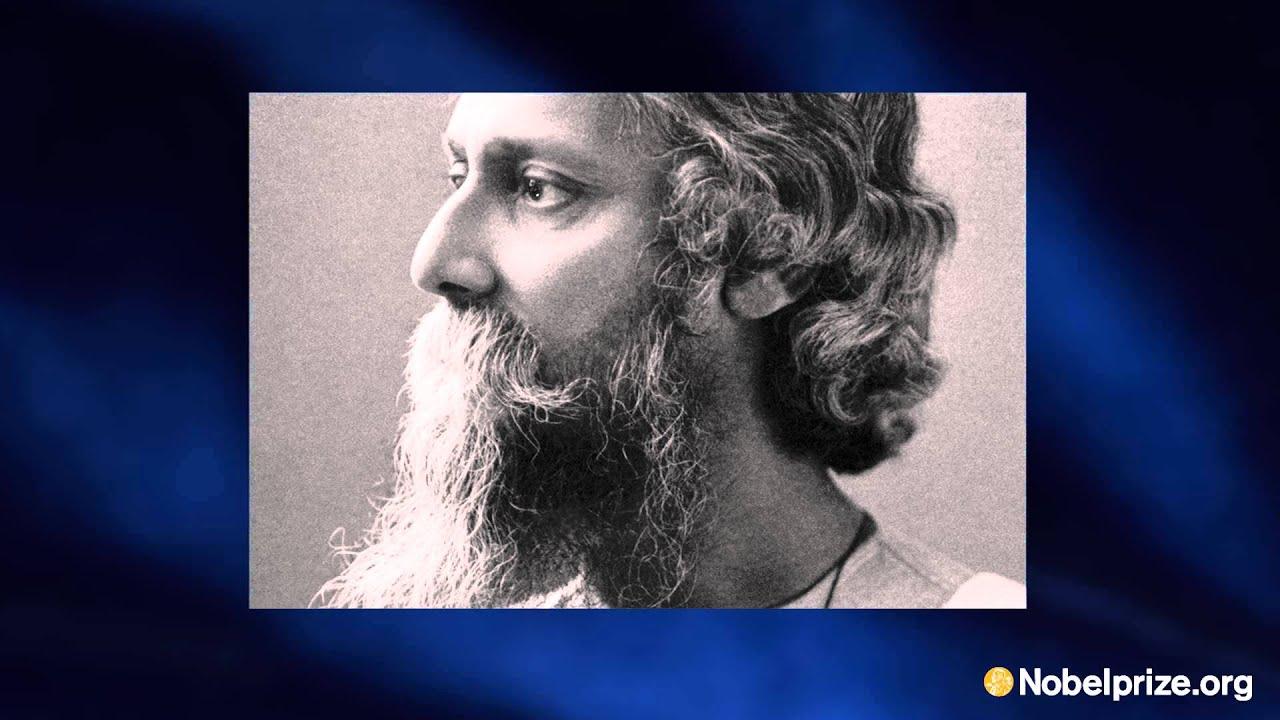 rabindranath tagore nobel prize speech
