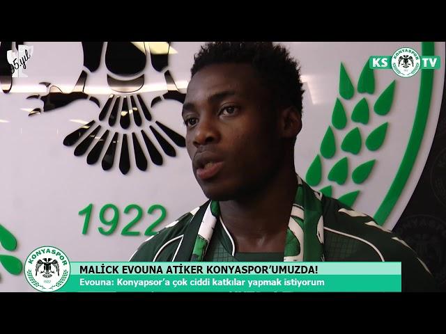 Malick Evouna Atiker Konyaspor'umuzda!