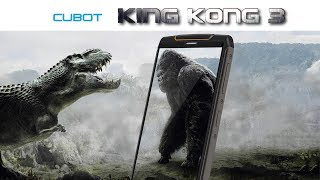 CUBOT KINGKONG 3 - 4GB RAM rugged smartphone