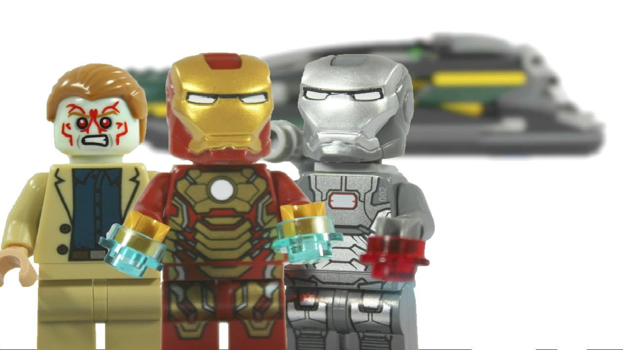 Lego 2013 iron man 3 marvel super heroes 76006 iron man - Lego iron man extremis sea port battle ...