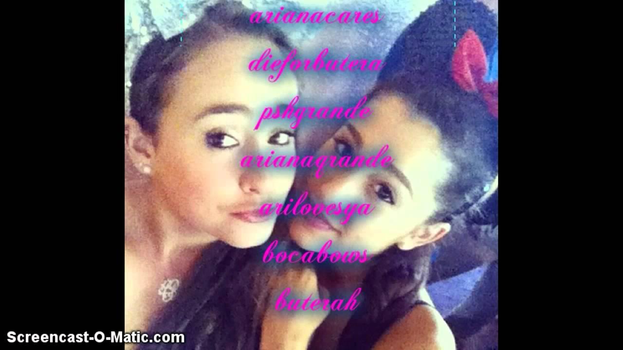 Ariana Grande Fanpage Username Ideas Ariana Grande Songs