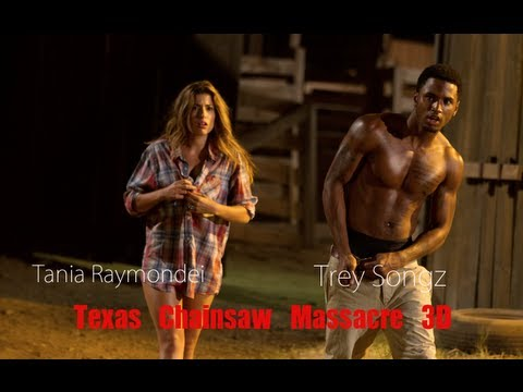 Trey z does scary movie 'his way'  Texas Chainsaw 3D Tre z & Alexandra Daddario