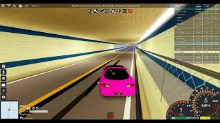 Car on the Motorway on 70 mph on Roblox