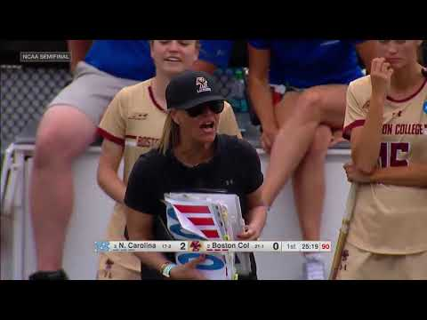 #3 North Carolina Vs. #2 Boston College (Semifinal #1) | NCAA Women's Lacrosse Championship 2019