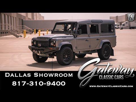 1989 Land Rover Defender 110 LS3 Restomod - Gateway Classic Cars of Dallas #1020