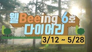 웰Beeing 6호 다이어리 - 3월12일~5월28일