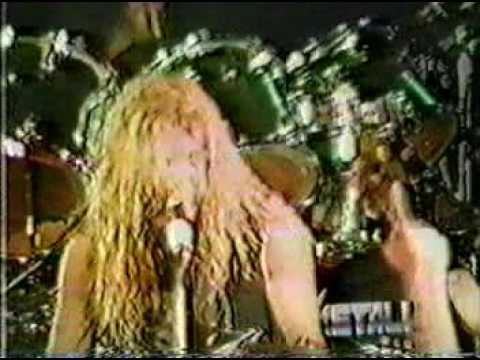 Metallica - Master of the puppets 1986 tour live DVD
