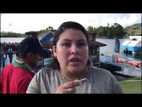 Ocupante del barco que naufragó en la represa de Guatapé [Noticias] - Telemedellín
