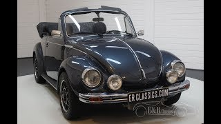 Volkswagen Beetle 1303 Cabriolet 1979 -VIDEO- www.ERclassics.com