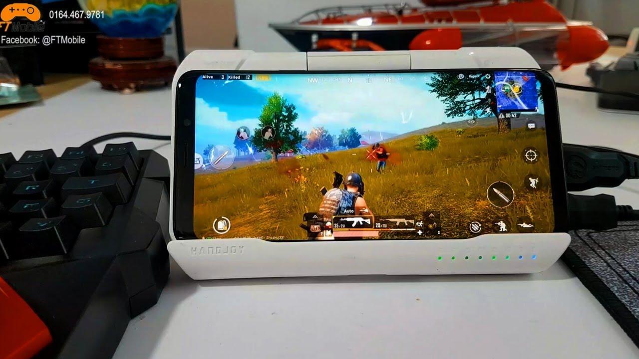 PUBG Mobile – Chuột Phím Trên Android Không Bị Band Với HandJoy Cực Chất