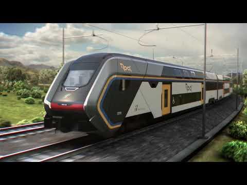 Rock: new Hitachi Rail regional train for Trenitalia