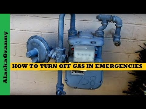 how to turn off your gas line in an emergency youtube rh youtube com