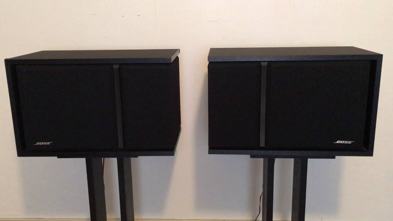 Bose 301 Series Iii Demonstration Youtube