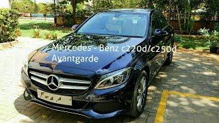 Mercedes - Benz c220d / c250d Avantgarde Review